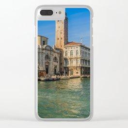 San Jeremy Venice Clear iPhone Case