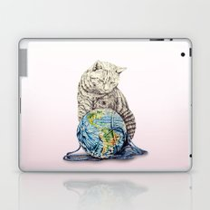 In which our feline deity shows restraint  Laptop & iPad Skin