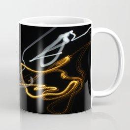 Long Exposer Super Moon and Street Light Coffee Mug