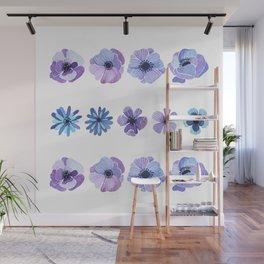 Purple flower Wall Mural