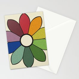 James Ward's Chromatic Circle (no background) Stationery Cards