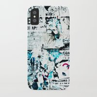 movie posters iPhone & iPod Cases featuring posters by Renee Ansell