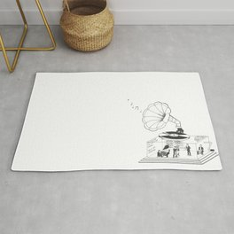 How does a Gramophone actually work? Rug