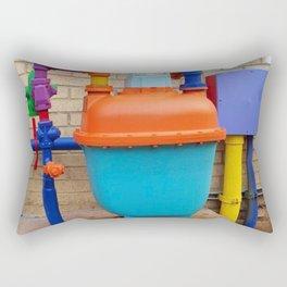 Exciting hotel plumbing, yippee! Rectangular Pillow