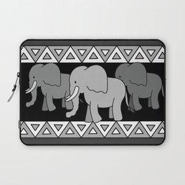 Traveling Elephants Laptop Sleeve