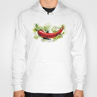 vietnam Hoodies featuring Vietnam Chilli by Vietnam T-shirt Project