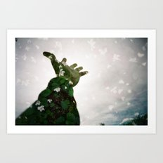 Reach Too Art Print