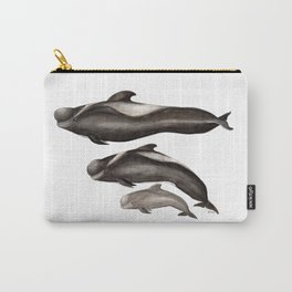 Short-finned pilot whale (Globicephala macrorhynchus) Carry-All Pouch
