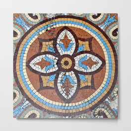 Mosaic Tile at the Chicago Athletic Club Metal Print