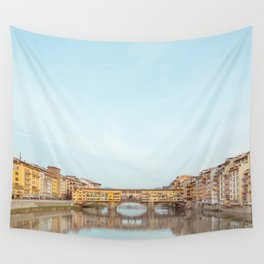 Ponte Vecchio - Florence Italy Travel Photography Wall Tapestry