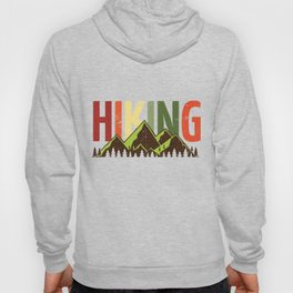 Hiking Nature Mountains Forest Hoody