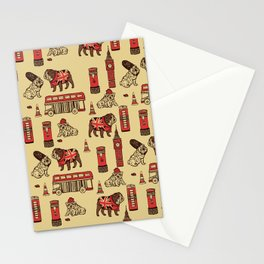 London English Bulldog Stationery Cards