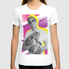 Dude+Cat T-shirt
