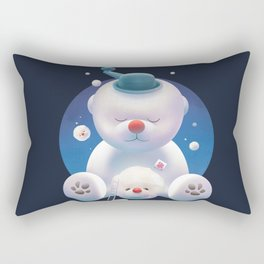 Bichon Ice Shaver Rectangular Pillow