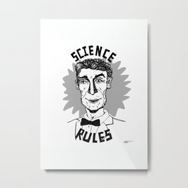 Bill Nye Forever Metal Print