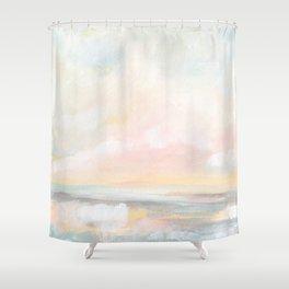 Rebirth - Pastel Ocean Seascape Shower Curtain