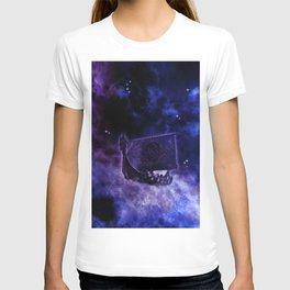 Cosmic Drakkar Illustration 2 T-shirt