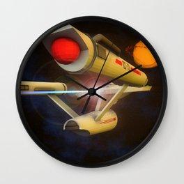 Enterprise Wall Clock