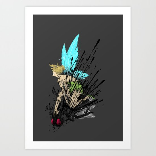 Dont Mess With Her! Art Print