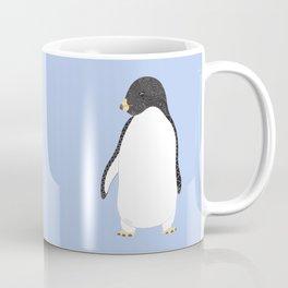 Penguin Love - Blue Coffee Mug