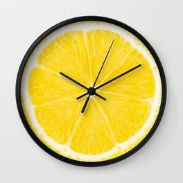 LOVE LEMON Wall Clock