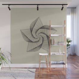 Dark Star Lines Wall Mural