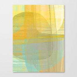 Lined Rocks #1 Canvas Print
