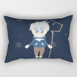 Snowballs and fun times Rectangular Pillow