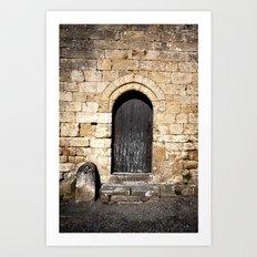 Histoire de portes Art Print