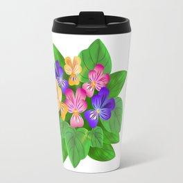 Violet Bouquet, flower, flowers Travel Mug