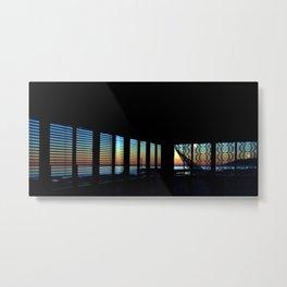 Dawn Through the Windows Metal Print
