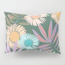 Gerbera and Palms Pillow Sham