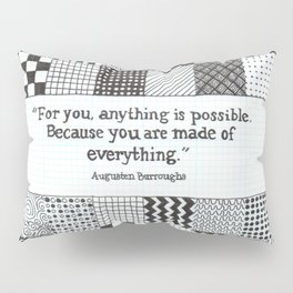 Made of Everything Pillow Sham