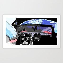 SPACE X Art Print