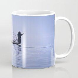 FISHERMAN AT INLE LAKE II Coffee Mug