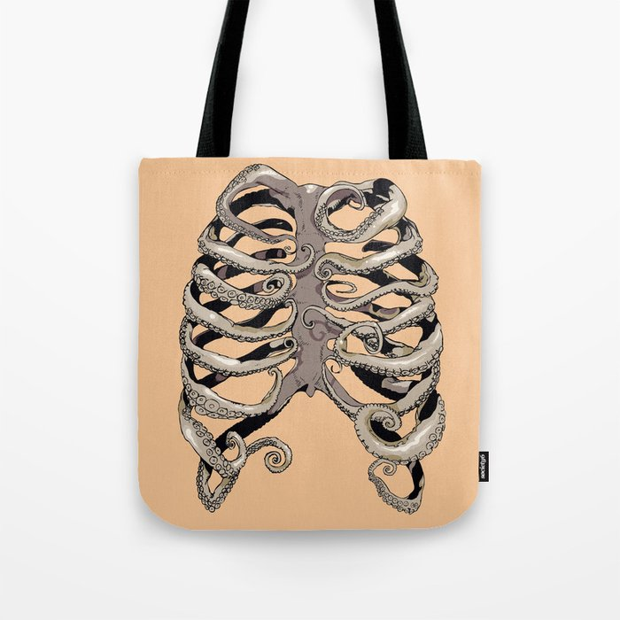 Your Rib is an Octopus Tote Bag