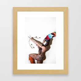 Too Many Chiefs Not Enough Indians  Framed Art Print