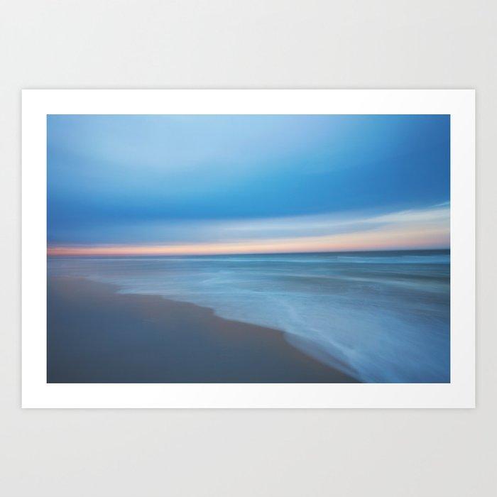 Painted Beach 2 Art Print