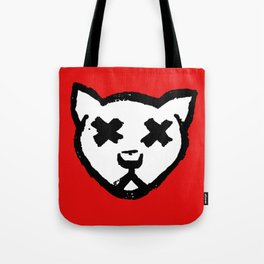 Dead Cat Icon Tote Bag