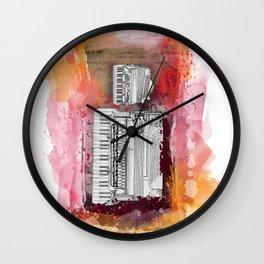 patent Frigo Accordion pick up assembly Wall Clock