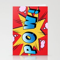 superheroes Stationery Cards featuring superheroes by mark ashkenazi