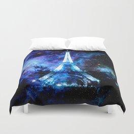 paRis galaxy dreams Duvet Cover