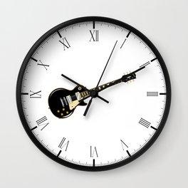 Rock Standard Guitar Wall Clock