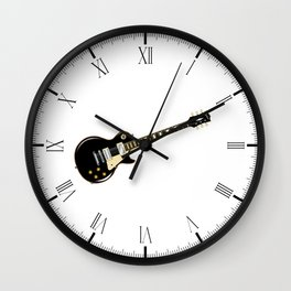 Rock Standard Guitar Wall Clock