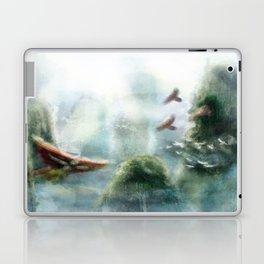 Flight through the Mountains Laptop & iPad Skin