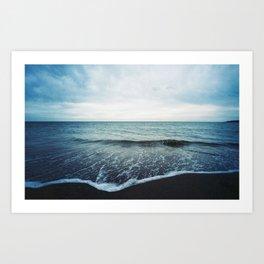 Sea Fold Art Print