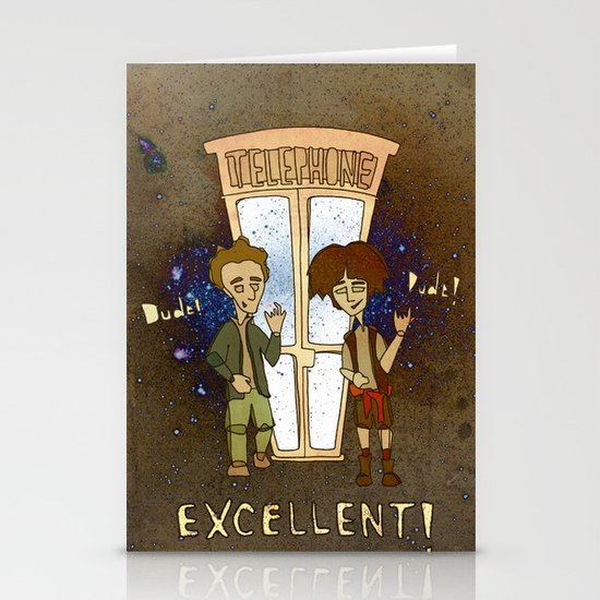 Bill & Ted's Excellent Adventure (1989) Stationery Cards
