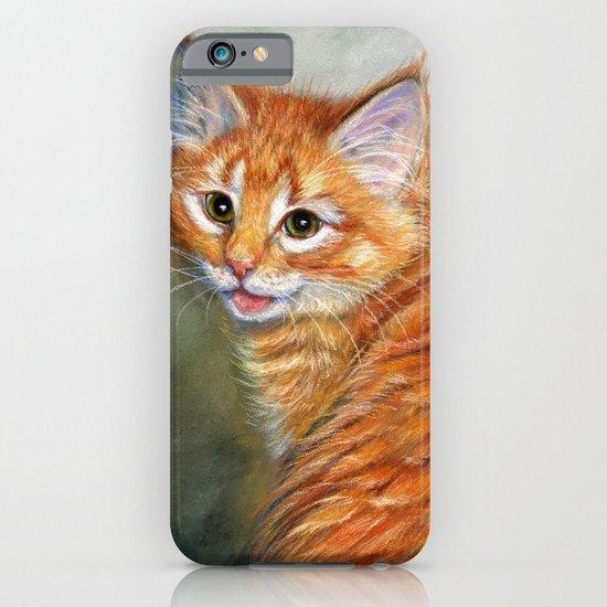Ginger Kitten 1 iPhone & iPod Case