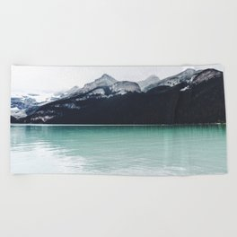 Lake Louise Reflections  Beach Towel