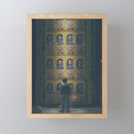 Hi I'm Chucky, Wanna Play? Framed Mini Art Print